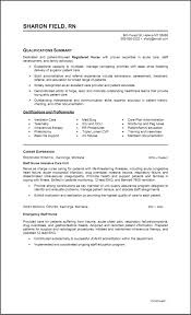 Sample Ng Resume by Critical Care Nurse Resume Recipe For The Perfect Intensive Care
