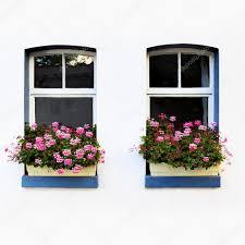 windows with flowers u2014 stock photo zoooom 13863496