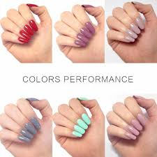 perfect summer gel nail polish uv led soak off gel polish long