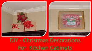 Kitchen Cabinet Art Diy Decorate Kitchen Cabinet Ledges W Dollar Tree Gift Bags