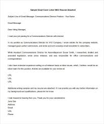 email cover letter for cv write mail to send resume by emailing