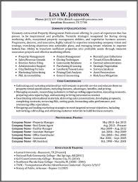 manager resume template property manager resume templates property management resume