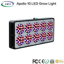 apollo power and light china apollo 10 high power led grow light for medical plant china