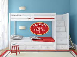 custom name firefighter wall decal kidscutouts com custom name firefighter wall decal