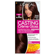 how to get cherry coke hair color l oreal casting creme gloss 356 cherry cola dark brown semi