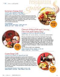 magazine guide cuisine restaurant guide grosse pointe magazine