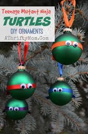 Christmas Ornaments Craft Projects by Teenage Mutant Ninja Turtles Christmas Ornament