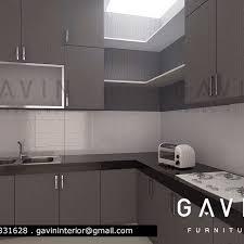 kitchen set di taman semanan jakarta barat finishing hpl kitchen