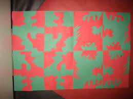 5th grade symmetrical complimentary color designs art at tatanka