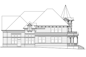 Queen Anne Floor Plans by Victorian House Plans Canterbury 30 516 Associated Designs