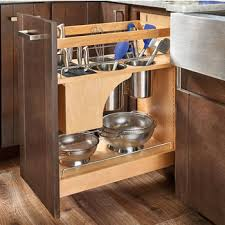 kitchen sink cabinet caddy rev a shelf pull out knife and utensil base cabinet