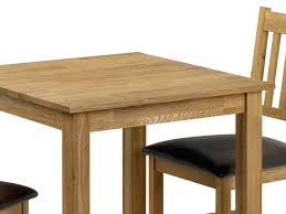 julian bowen coxmoor solid oak bowen coxmoor 75cm american white oak dining table and 2 chairs set