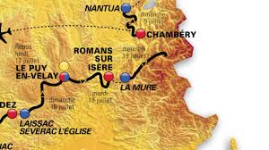 Tour De France Route Map by Le Parcours Tour De France 2017 Youtube