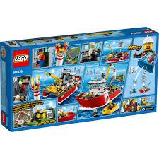 lego city fire fire boat 60109 walmart com
