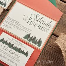 Wedding Invitations With Pockets Wedding Invitations Find Your Style All That Glitters Invitations