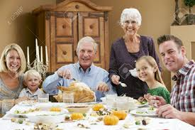 Family At Thanksgiving Dinner Tfl Comedy