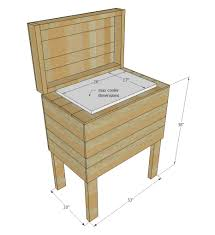 Diy Wood Desk Plans by Ana White Pallet Cooler Stand Diy Projects