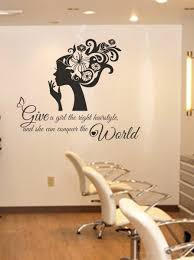right hairstyle wall decal sticker wall decal sticker wall art right hairstyle wall decal sticker