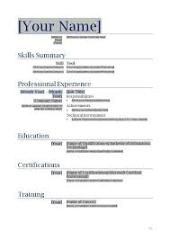 resume templates word free printable resume templates microsoft word best template idea