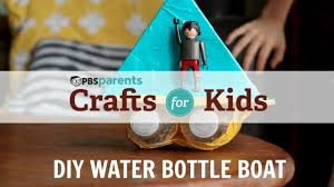 diy water bottle boat crafts for kids pbs parents youtube