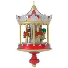 carousel mini ornament keepsake ornaments hallmark