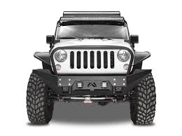 jeep winch bumper full metal jacket full width front bumper fab fours