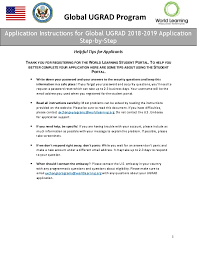 step by step global ugrad application instructions u s embassy