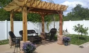 pergola stunning pergola styles outdoor patio wooden brown