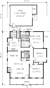 cottage farmhouse house plans hahnow