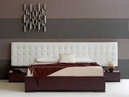 bedroom great leather headboard with queen bedsize for bedroom