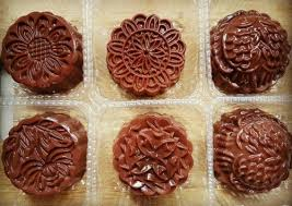 Chocolate Jelly Moon Cake