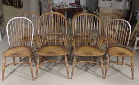 Farm House Dining Chairs 8 Farmhouse Dining Chairs Yew Furniture Ebay