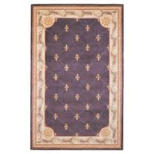 Fleur De Lis Area Rug Kas Rugs Antique Fleur De Lis Grape 9 Ft 6 In X 13 Ft 6 In