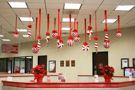 interior design view cubicle decoration christmas theme interior