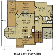 cottage home floor plans cottage style house plan screened porch by cottage style golf