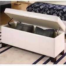 Foot Of Bed Storage Bench Bedroom Incredible Attractive Storage Bench Foot Of Bed Best 25
