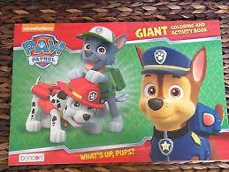 paw patrol giant coloring u0026 activity book 24 pgs skye chase zuma