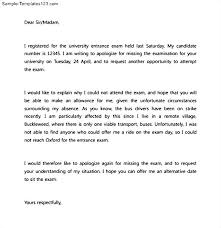 apology letter to principal for absence sample templates