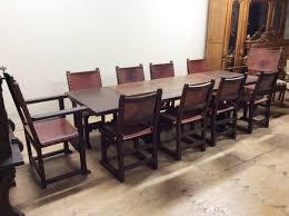 furniture splendid spanish revival dining set set of four th