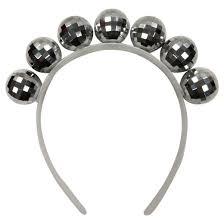 silver headband silver disco headband spritz target