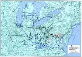Csx Railroad Map The Chessie System