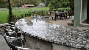 outdoor kitchen countertops ideas best countertop for outdoor kitchen outdoor designs