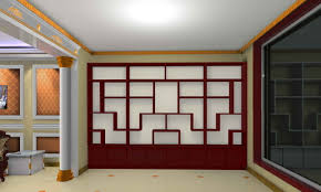 decorations interior wall design come with cubical shelves wall