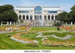 garten köln flower beds and fountains flora und botanischer garten k禧ln stock