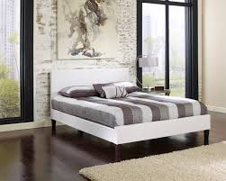 Platform Beds White Platform Beds U2014 The Dream Merchant