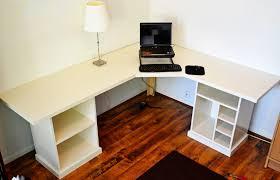 tables appealing design diy corner desk ideas featuring light