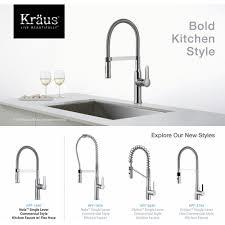 kraus kpf 1640ch nola polished chrome pro pre rinse units kitchen