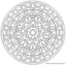 tons of amazing geometry coloring pages free for middle east