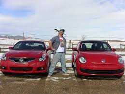 volkswagen coupe 2012 2012 vw beetle vs nissan altima coupe valentine u0027s day mashup