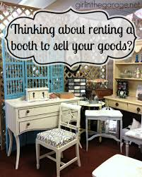 thinking about renting a booth to sell your goods in the